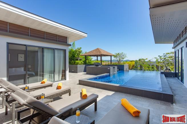 Modern 4 Bed Sea View Pool Villa In Secluded Rawai