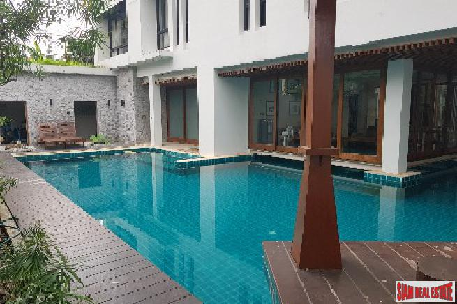 Super Luxury Private Estate Over 2,000 square metre Compound in the Heart of Bangkok, Asoke