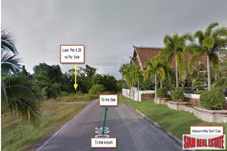 DEVELOPMENT LAND FOR SALE 4.5 Rai Mission Hills