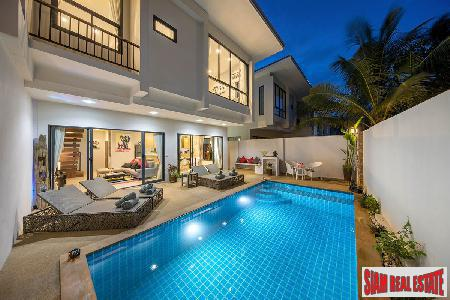 Modern Town Houses with Private Pools