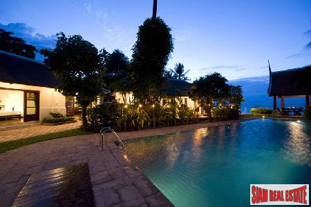 Luxury Modern Thai Stlye Beach Front Villa at Bang Rak