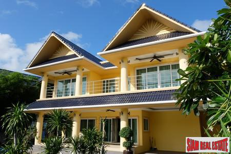 Large Family Home with Swimming Pool in Secure Estate at Rawai Beach