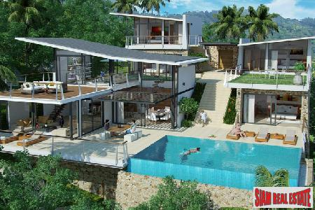 New Project of 11 Exclusive Four-to-Six Bedroom Villas at Bophut