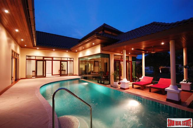 Les Palmares | Modern 3-Bedroom Balinese Pool Villa in Bang Tao