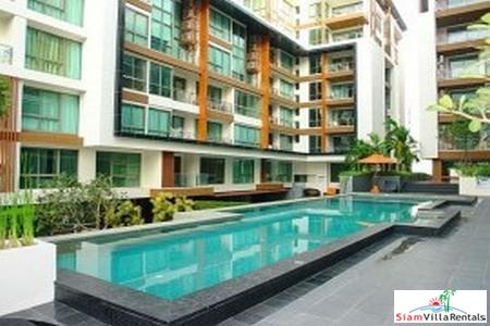 Spacious 2BRs( 84 Sq.M) Luxury Resort Condominium in The Center of Pattaya for Long Term Rent
