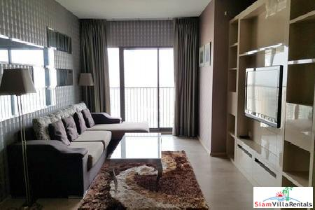 Noble Remix | 3 Bedroom. Sky bridge to Thonglor BTS. High floor with City View for Rent