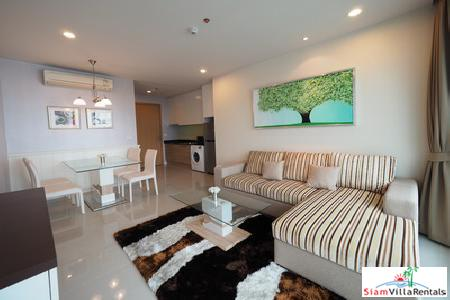 Circle Condominium |  Big 48 sqm One Bedroom Condo for Rent in Phetchaburi