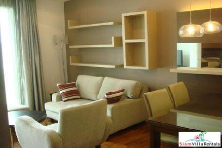 Baan Siri 31 | Luxury Large One Bedroom Condo for Rent Close to Asoke BTS