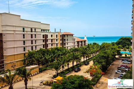 Seaview Beachfront Condo for Rent in Jomtien