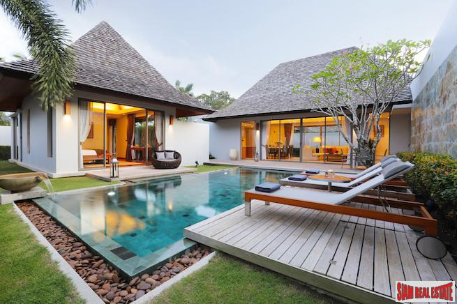 Exclusive, Luxurious and Spacious Villa Development in Prestigious Laguna, Phuket