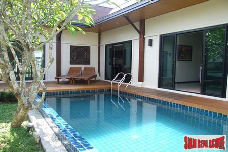 Tropical Two Bedroom Pool Villa in a Peaceful Location in Rawai