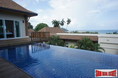 Four Bedroom Hillside House with Pool and Sea Views in Ao Yon