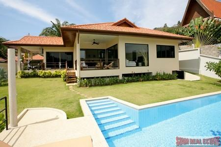 3 Bed Pool Villa in Secure Estate at Nai Harn