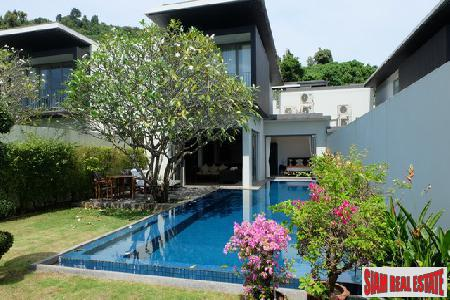 Modern Three Bedroom Villa with Sea Views in Peaceful Ao Yamu