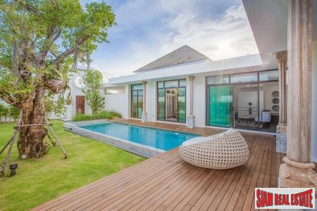 New Resort Style Pool Villa Development For Sale in Chalong