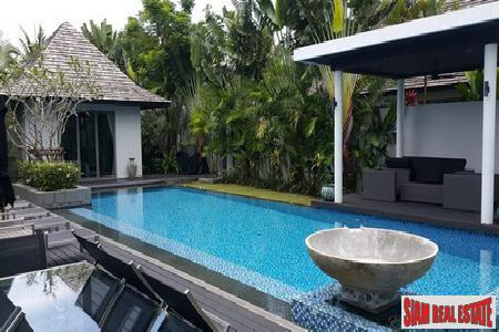 Walk to The Beach from this Luxurious Pool Villa in Layan