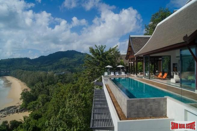 Sea Views from this Magnificent and Unique Villa in Nai Thon