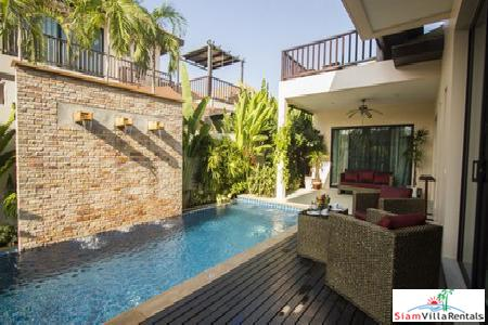 Beautiful 3 Bedroom Pool Villa in Cul-De-Sac at Rawai Available Now
