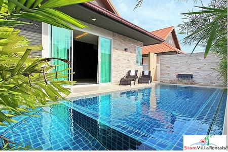 Luxurious Beautiful 3  Beds Pool Villa Jomtien - LT-Rental Include Free Internet+Cable TV+Pool and Garden Maintenance