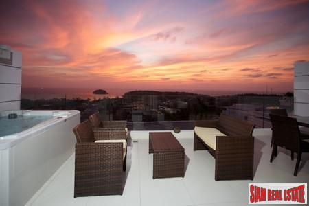Fantastic Sunset Views from this Contemporary Condo for Sale in Kata Beach