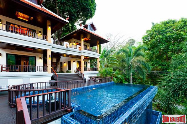Magnificent 4 Bedroom Pool Villa Surrounded by Woods in Nai Harn Private Estate