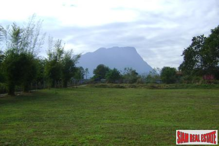 Beautiful Mountain View Land and Home for Sale in Chang Dao, Chiang Mai