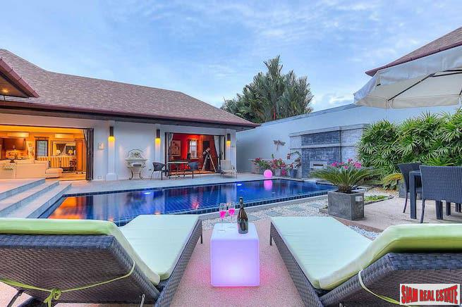Luxury Modern Thai-Bali Pool Villa at Rawai Bay