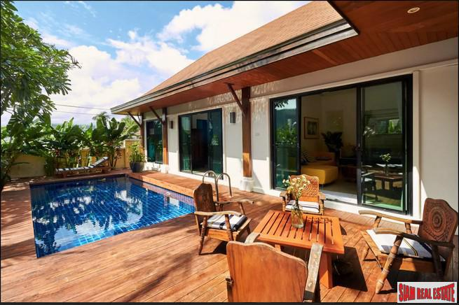 Lovely 2 Bed/ 2 En-Suite Balinese Villa  in Rawai/ Nai Harn  with Pool & Garage
