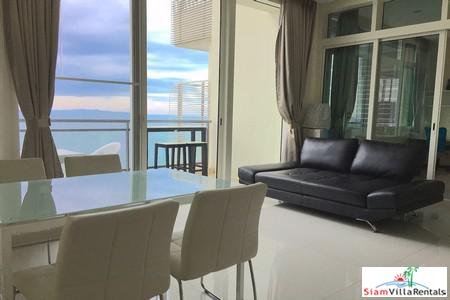 Super Luxury 4 Bedroom Absolute Beachfront Condominium in Pattaya Jomtien