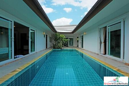 Modern Three-Bedroom Beach House Pool Villa in Banglamung Pattaya