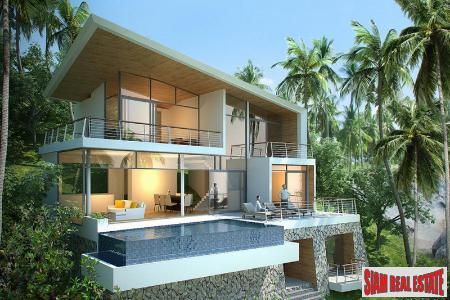 3/4 Bedroom Sea view villas