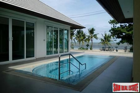 Modern Four-Bedroom Beach Front  Pool Villa with unobstruct seaview in Pattaya