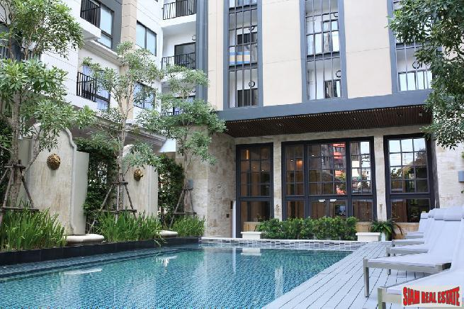 Newly Completed Development on Sukhumvit Soi 22. Studio 1 and 2 Bedrooms Available.