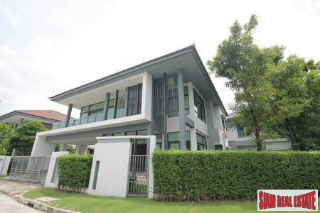 Setthasiri Krungthep Kreetha | New Designer Home with 4 Bedrooms and 318 Sqm.