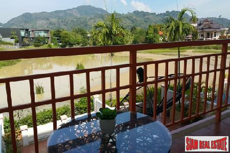 Large 3 bedroom Townhouse for Sale with Lake & Mountain Views, Chalong