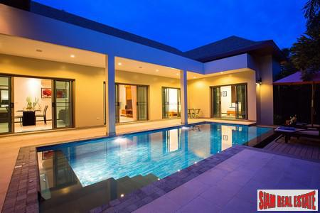 Luxury 3 Bed Modern Thai-Bali Pool Villa at Nai Harn Beach