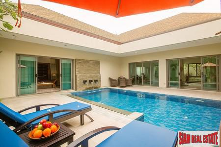 Quality Modern 3 Bed Pool Villa at Nai Harn Beach