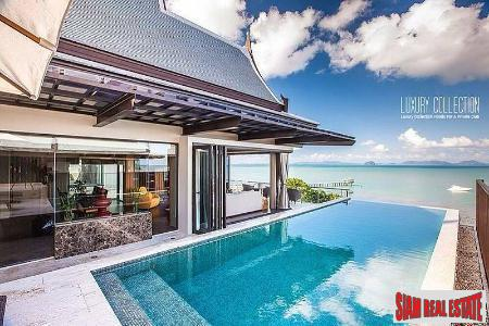 Moon Terrace Luxury Villa  | Amazing New Beachfront Villa with Sweeping Sea Views in Koh Sirey