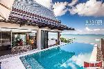 Amazing New Beachfront Villa with Sweeping Sea Views in Koh Sirey, Phuket