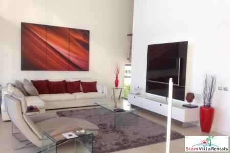 Large 4-Bedroom Condo with Sea Views for Rent in Layan, Phuket