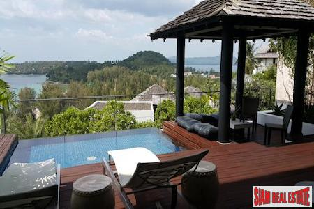 Fantastic Sea Views over Surin Beach from this Condo Townhouse