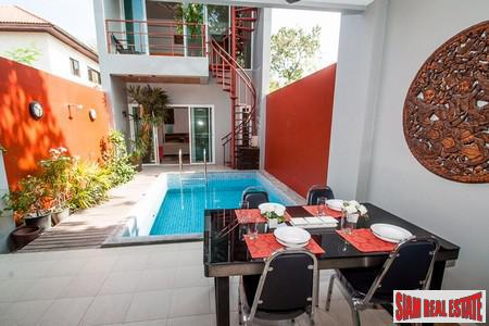 Private Three Bedroom Pool Villa Conveniently Located in Rawai