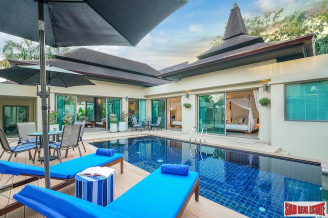 Newly Renovated Balinese Style Pool Villa in Layan, Phuket with 12 month payment plan