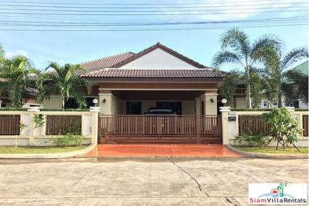 The New 3 Beds Detached House for Rent in East Pattaya