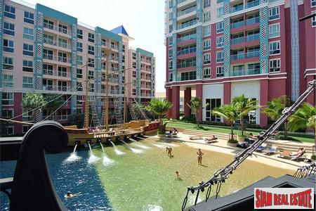1 Bedroom Room Low Rise Luxurious Condo in A Resort Atmosphere Between South Pattaya and Jomtien