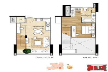Luxury Stylish 1 Bed Duplex 2