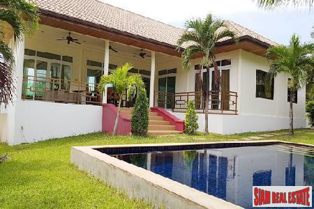 Great Value 3 Bed Pool Villa with Sea View in Rawai