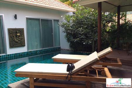 Three Bedroom Pool Villa for Rent in Rawai, Phuket