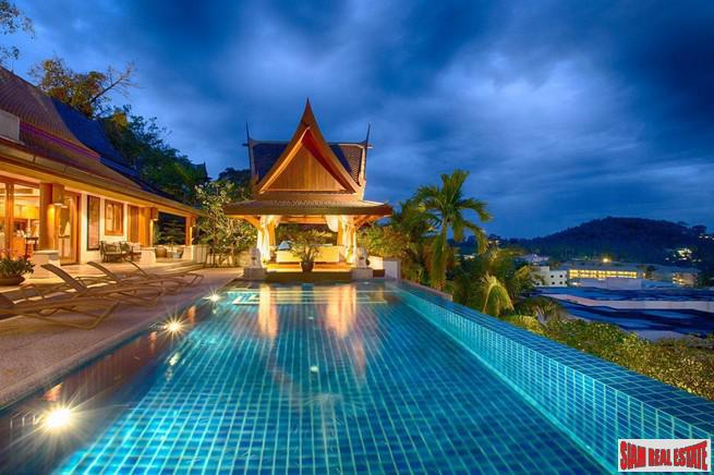 Baan Thai Surin Hill Villa | Magnificent Sea Views from this 4 Bedroom Private Pool Villa