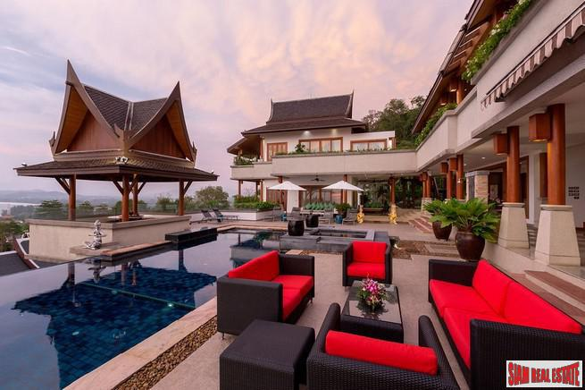 Baan Thai Surin Hill | Private Tropical Pool Villa with Fabulous Sea Views